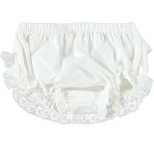 Elegante culotte per neonata ido PANNA-0112