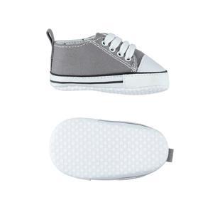 Scarpine modello sneakers ido GRIGIO SCURO-0564