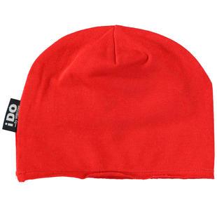 Cappello modello cuffia taglio vivo ido ROSSO-2256
