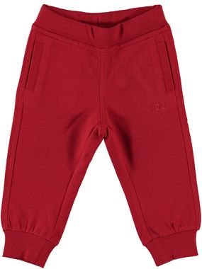 Pantalone lungo 100% cotone in felpa leggera ido ROSSO - 2253