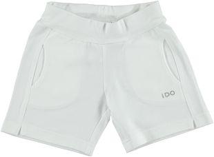 Short in cotone elasticizzato  BIANCO-0113