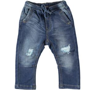 Pantalone in denim stretch dodipetto STONE WASHED-7450
