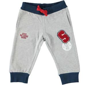Pantalone sportivo per uso quotidiano dodipetto GRIGIO MELANGE-8992