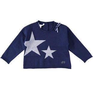 Maglioncino corto con stelle dodipetto ROYAL-3757
