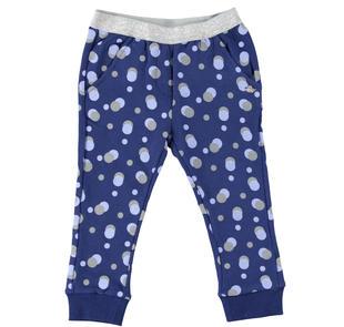 Pantalone fantasia pois dodipetto BLUETTE-LAVANDA-6Y93