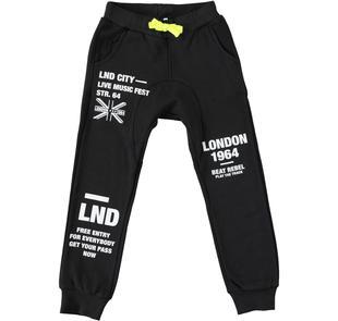 Grintoso e sportivo pantalone con cavallo basso dodipettobasic NERO-0658