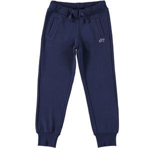Pantalone Dodipetto in felpa tinta unita dodipettobasic NAVY-3854