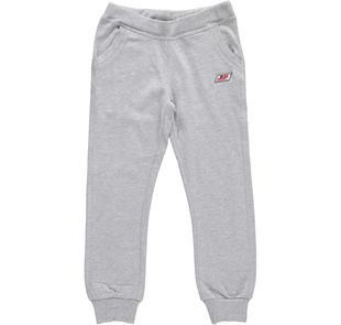 Pantalone per la scuola in jersone dodipettobasic GRIGIO MELANGE-8992