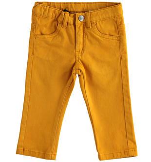 Pantalone slim fit in twill stretch  OCRA-1655