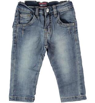 Pantalone in denim stretch  STONE WASHED-7450
