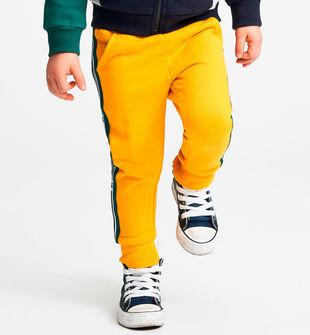 Pantalone lungo 100% cotone  GIALLO-1615