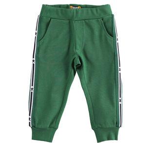 Pantalone lungo 100% cotone  VERDE-4726