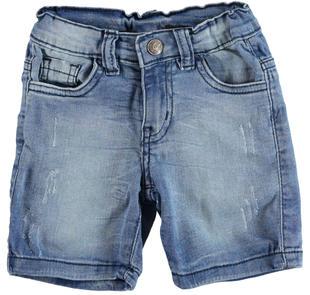 Pantalone in denim stretch effetto delavato  STONE BLEACH-7350