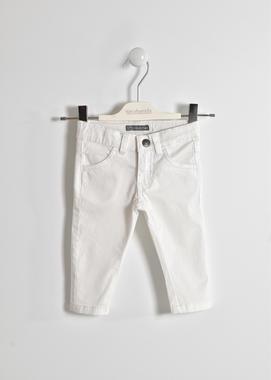Pantalone lungo in twill stretch