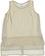Elegante camicia smanicata con stampa a pois sarabanda PANNA-BEIGE - 6F47
