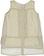 Elegante camicia smanicata con stampa a pois sarabanda PANNA-BEIGE - 6F47 back