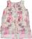 Elegante camicia smanicata con stampa a pois sarabanda PANNA-FIORI POIS - 6F50 back