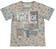 T-shirt fantasia stampata 100% cotone sarabanda BIANCO-BEIGE - 6G23