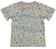 T-shirt fantasia stampata 100% cotone sarabanda BIANCO-BEIGE - 6G23 back