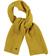 Sciarpa in tricot con lavorazione a coste larghe per bambino sarabanda GIALLO - 1614