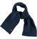 Sciarpa in tricot con lavorazione a coste larghe per bambino sarabanda NAVY - 3657