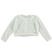 Giacca in tricot effetto angora per bambina sarabanda PANNA - 0112