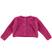 Giacca in tricot effetto angora per bambina sarabanda ORCHIDEA - 2456