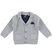 Giacca in lana e cotone per bambino sarabanda GRIGIO MELANGE - 8948