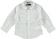 Camicia bambino a manica lunga in popeline di cotone sarabanda BIANCO - 0113