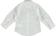 Camicia bambino a manica lunga in popeline di cotone sarabanda BIANCO - 0113 back