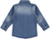 Camicia bambino a manica lunga in cotone effetto denim sarabanda STONE WASHED - 7450 back