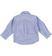 Camicia classica in tessuto fil a fil jacquard per bambino sarabanda AVION - 3621 back