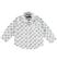 Camicia bambino a manica lunga in oxford sarabanda BIANCO-MULTICOLOUR - 6N98
