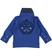 Polo 100% cotone con colletto e polsi modello camicia sarabanda ROYAL - 3764 back