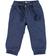 Pantalone per bambino 100% cotone con polsino alla caviglia sarabanda NAVY - 3854