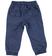 Pantalone per bambino 100% cotone con polsino alla caviglia sarabanda NAVY - 3854 back
