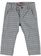 Elegante e grazioso pantalone a quadri sarabanda GREY - 0518