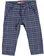 Elegante e grazioso pantalone a quadri sarabanda NAVY - 3854