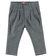 Pantalone in raffinato tessuto armaturato sarabanda GRIGIO-0516
