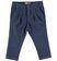 Pantalone in raffinato tessuto armaturato sarabanda NAVY - 3854