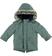 Parka per bambino foderato in eco pelliccia sarabanda VERDE SCURO - 4254