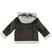 Giaccone modello shearling per bambino sarabanda BROWN - 0845 back