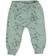 Pantalone mimetico bambina modello cavallo calato sarabanda PANNA-VERDE - 6P09