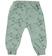 Pantalone mimetico bambina modello cavallo calato sarabanda PANNA-VERDE - 6P09 back
