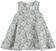 Abito scamiciato in grazioso tessuto motivo floreale sarabanda GRIGIO MELANGE - 8967