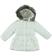 Piumino invernale per bambina foderato in eco pelliccia sarabanda PANNA - 0112