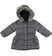 Piumino invernale per bambina foderato in eco pelliccia sarabanda GRIGIO - 0567
