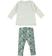 Completo maxi maglietta e leggings con stampa effetto mimetico sarabanda PANNA-0112 back