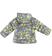Piumino bambina reversibile con trapunta orizzontale sarabanda PANNA-OCRA-6N95 back