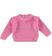 Maglia girocollo in tricot bouclè sarabanda CICLAMINO - 2812